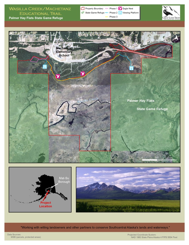 Wasilla Creek Trails Map